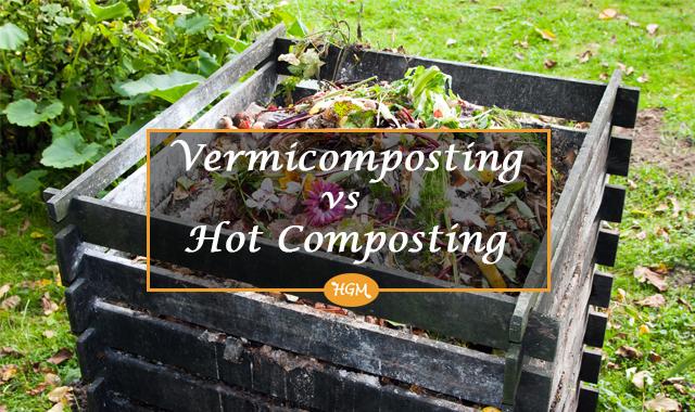 vermicomposting vs hot composting
