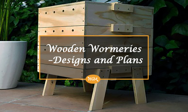 Wooden Wormeries - Designs and Plans