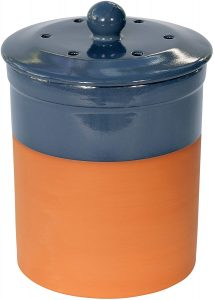 Terracotta Ceramic Kitchen Composter