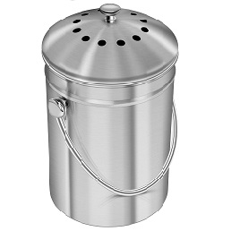 Stainless Steel Kitchen Bin for Kitchen Countertop icon